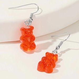 ⭕️ 3/$20! Red gummy bear earrings